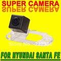 Para philips hyundai santa fe coche cámara de vista trasera de estacionamiento de la cámara reversa de reserva impermeable cámara del coche del sensor