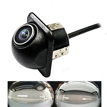 180degree CCD HD night vision car camera auto reversing rear view /Front view /Side view camera for Universal camera waterproof