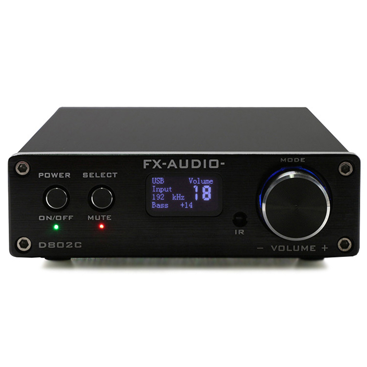 FX-Audio 24Bit/192 KHz 80 W * 2 D802C bluetooth3.0 Numérique amplificateur Audio Entrée USB/RCA/ optique/Coaxial Entrée + UE adaptateur secteur