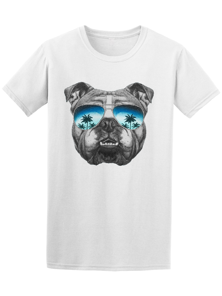 image By Shutterstock Cartoon T Shirt Men Unisex New Fashion Tshirt Free Shipping T-shirts Cool & Classy Tropical Bulldog Mens Tee