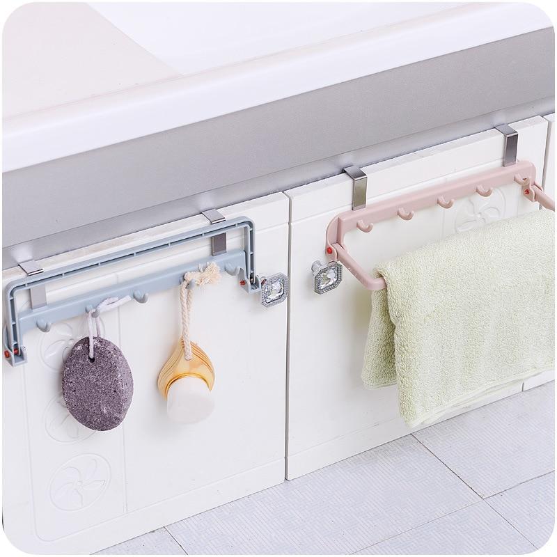 2 Styles Adhesive Household storage Racks Towel Holder
