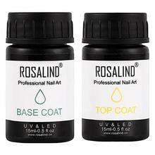 Top-Coat Nail-Gel Manicure TMISHION Salon 15ml Rubber UV Aliexpress