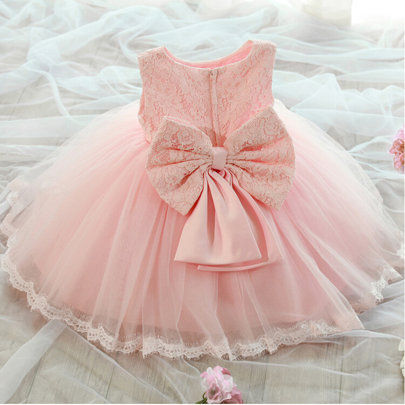 2015 New Princess Flower Girl Dresses with Bow Communion Ball Party Pageant Dress for Wedding Little Girl Kids/Children Dress