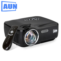 AUN Android Projector Built In WIFI Bluetooth 4 4 2 LED Projector Support KODI Play AC3