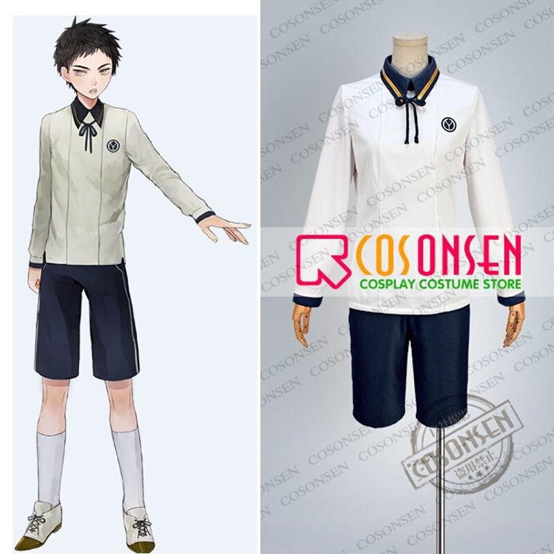 COSPLAYONSEN Touken Ranbu Atsu Toushirou Casual Version Clothing Cosplay Costume All Size