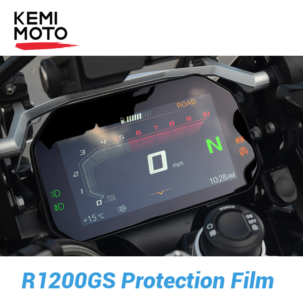 For <font><b>BMW</b></font> <font><b>R1200GS</b></font> R1250GS LC Adventure Film Screen Protector Scratch Protection for <font><b>BMW</b></font> GS 1200 1250 GS LC Adventure Adv 2018-2019 image