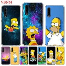 Bart Simpson Fantasy TPU Silicone Phone Case For Huawei Mate 10 20 Pro Lite 20X S RS Y5 Y6 Y7 Y9 2019 Prime Art Customized Cases