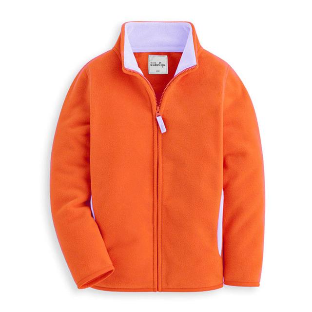 Polar de cáscara suave para bebé de 14 años de los niños del color sólido desgaste cremallera forro polar de cáscara suave niños clothing