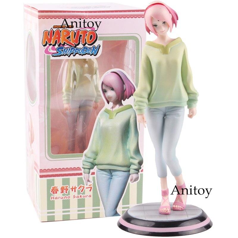 Naruto Shippuden Figure Shonen Jump Gals Series Sakura Haruno Toys PVC Anime Naruto Figure Collectible Model Toys Dolls 19.5cm