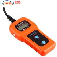 10 sztuk/partia U281 ABS AirBag Narzędzia Reset OBD2 EOBD Code Reader CAN-BUS Diagnostic Scanner Scan Tool Diagnostyczne Silnika samochodu A0di V W