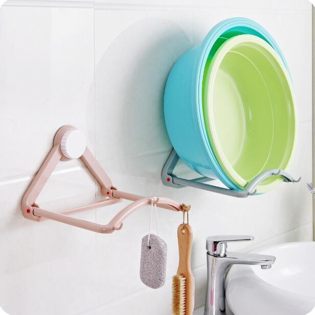 Seamless Cupsful Bathroom Organizer Basins Rack Automatic Washbasin ...