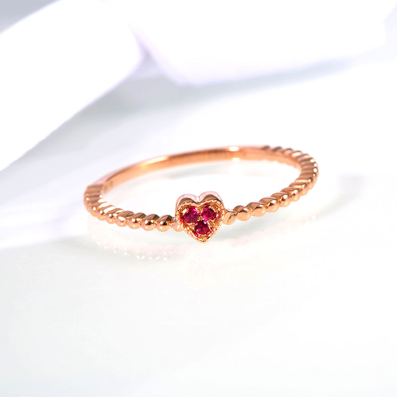 Robira Ruby Rings Jewelry for Women 2016 New Arrival 14K Rose Gold Finger Rings Natural Burmese Ruby Wedding Rings велосипед specialized ruby 2016