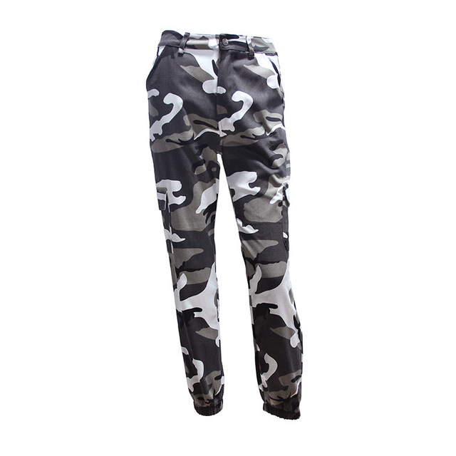 Women High Waist Camouflage Pants Fashion Pantalon Femme Trouser Ankle-Length Sweatpants Cotton Streetwear Camo Pants Fashion & Designs