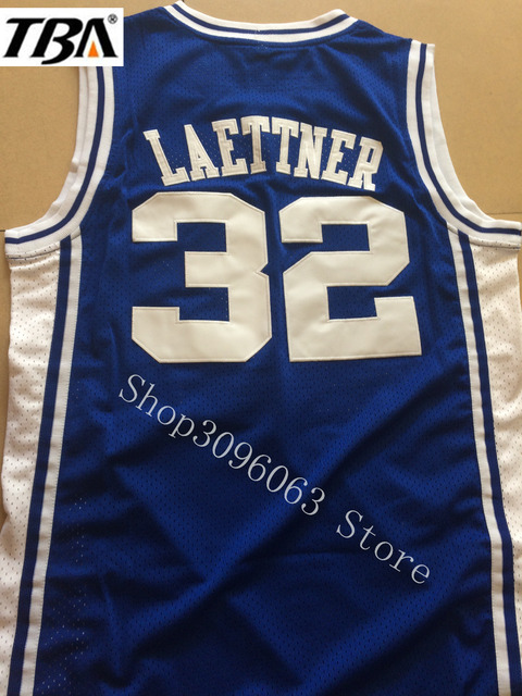 buy popular 885a7 17004 US $17.68 |NEW Christian Laettner 32 DUKE Basketball Jersey Blue Cheap  Throwback Basketball Stitched Jerseys Free Shipping-in Basketball Jerseys  from ...