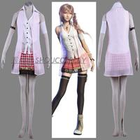 Final Fantasy XIII FF 13 Serah Farron Cosplay Costume set