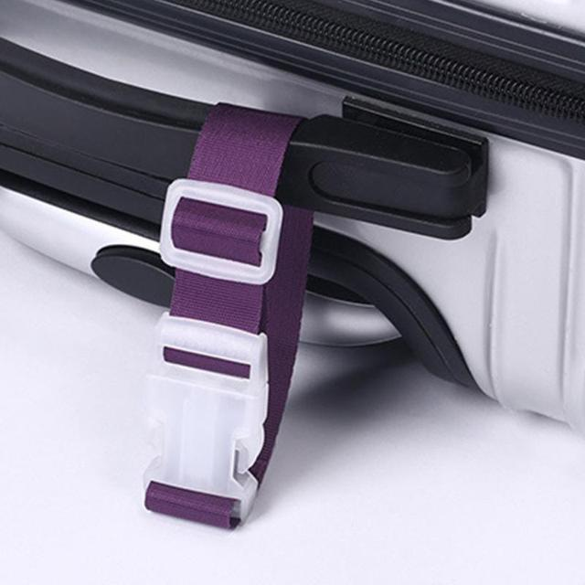 1 pcs Adjustable Travel Suitcase Bag Luggage Straps Buckle Baggage Tie Down Belt Lock Hooks