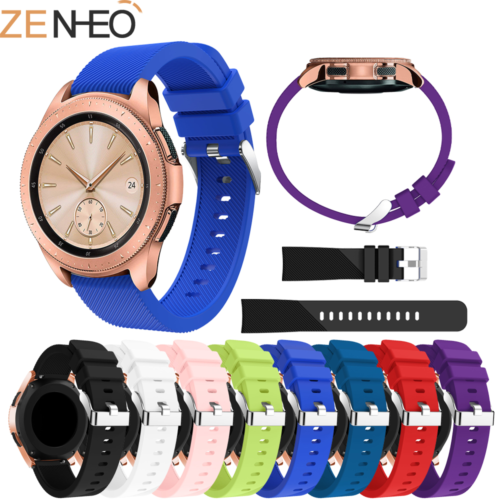 Silicone Watchband 20mm For Samsung Galaxy Watch 42mm Watch Strap Replacement For Samsung Galaxy Watch 42mm Band Strap Bracelet цена