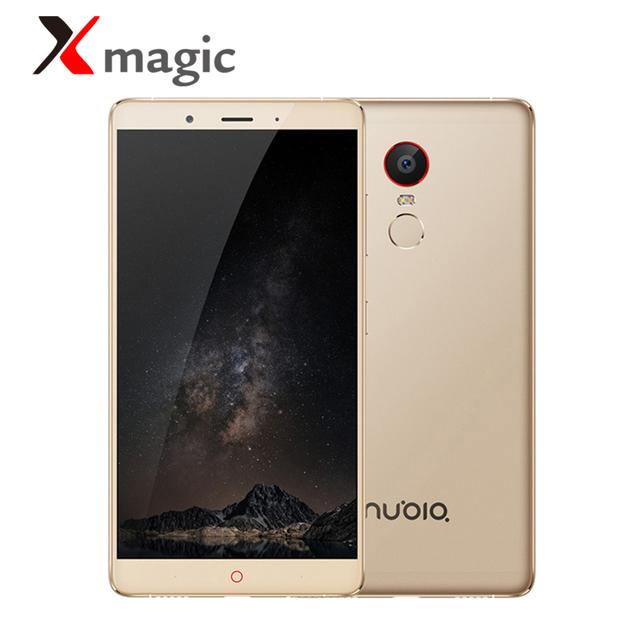 Original ZTE Nubia Z11 Max 4G LTE Mobile Phone 6.0″ 1920x1080P 3/4G RAM 64G ROM Big Battery 4000mAh Fast Fingerprint Smartphone
