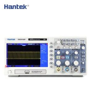 Image 5 - הדיגיטלי אוסצילוסקופ Hantek DSO5102P נייד 100MHz 2 ערוצים 1GSa/s שיא אורך 40K USB Osciloscopio כף יד אוסצילוסקופ