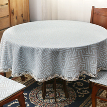 Simple round tablecloth, coffee table square cloth, household simple European and American tablecloth