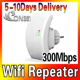 Extend coverage of wireless repeater Wireless-N802.11n network router 300M EU plug of wireless products