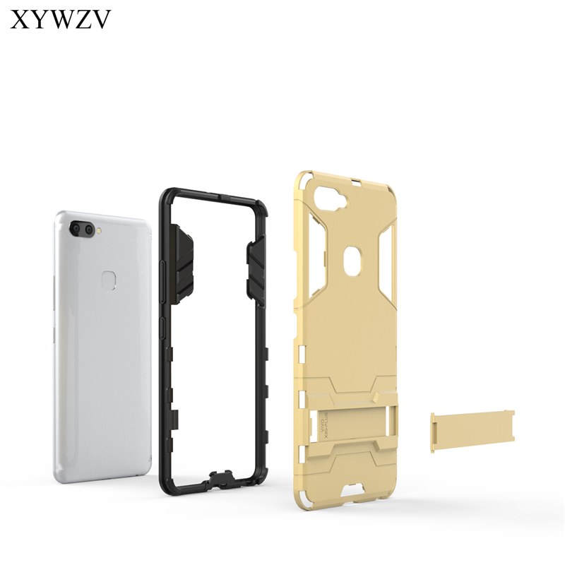 Image 2 - For Cover Vivo X20 Plus Case Silicone Robot Hard Rubber Phone Cover Case For Vivo X20 Plus Cover For Vivo X20Plus Coque XYWZV-in Fitted Cases from Cellphones & Telecommunications