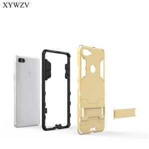 Image 2 - For Cover Vivo X20 Plus Case Silicone Robot Hard Rubber Phone Cover Case For Vivo X20 Plus Cover For Vivo X20Plus Coque XYWZV