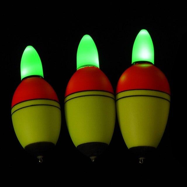 2Pcs 20g/30g/35g Fishing Floats Intelligent Electronic Light Bobber Fishing Float Fish Advanced EVA Plastic Float Bite Alarm New