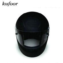 FIA8858-2010 Омологации Плоский Черный Стеклопластик Auto Racing Шлем//Гонки На Мотоциклах Шлем