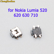ChengHaoRan 5pcs Power on off Volume Switch Key Button replacement parts for Nokia Lumia 520 620 630 710 635 930