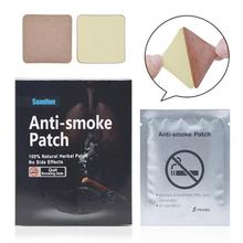 35 Pcs / Box Anti Asap Patch Berhenti Merokok Plester Bahan Alami Rehabilitasi Patch Persediaan Terapi U2