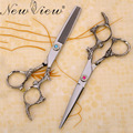 NewView 6 Inch Hair Scissors Set Professional Cutting Thinning Scissors Hairdressing Barber Hair Styling Tools Dragons handle
