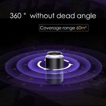 USB Electronic Mosquito Killer Light LED DC 5V Indoor Silent Mosquito Trap Killer Fly Pest Control Lamp for Home Indoor