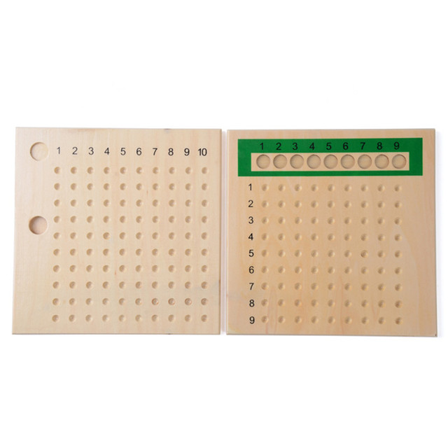 Math Bead Boards for Preschool Training