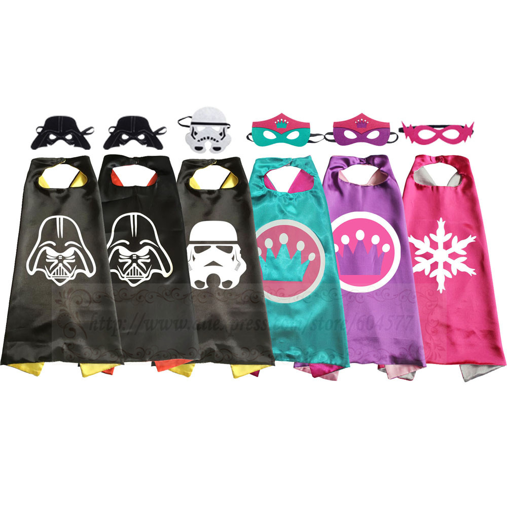 Darths Costumes Darth Crown Party Cosplay for Kids Dress Up