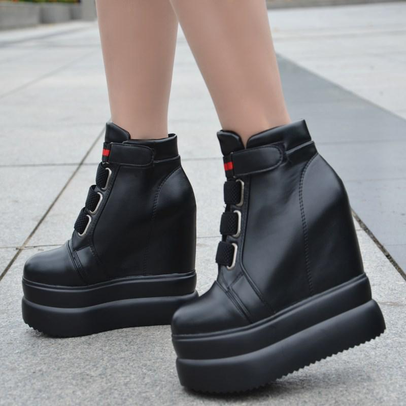 Slope with 2017 autumn and winter new robe with the stage 13cm women boots Within the high-thick high-heeled boots сью монк кид кресло русалки