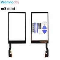 Vecmnoday Công Cụ + Original Mới thay thế màn hình cảm ứng Cho HTC one mini 2 m8 mini màn hình cảm ứng glass digitizer đen