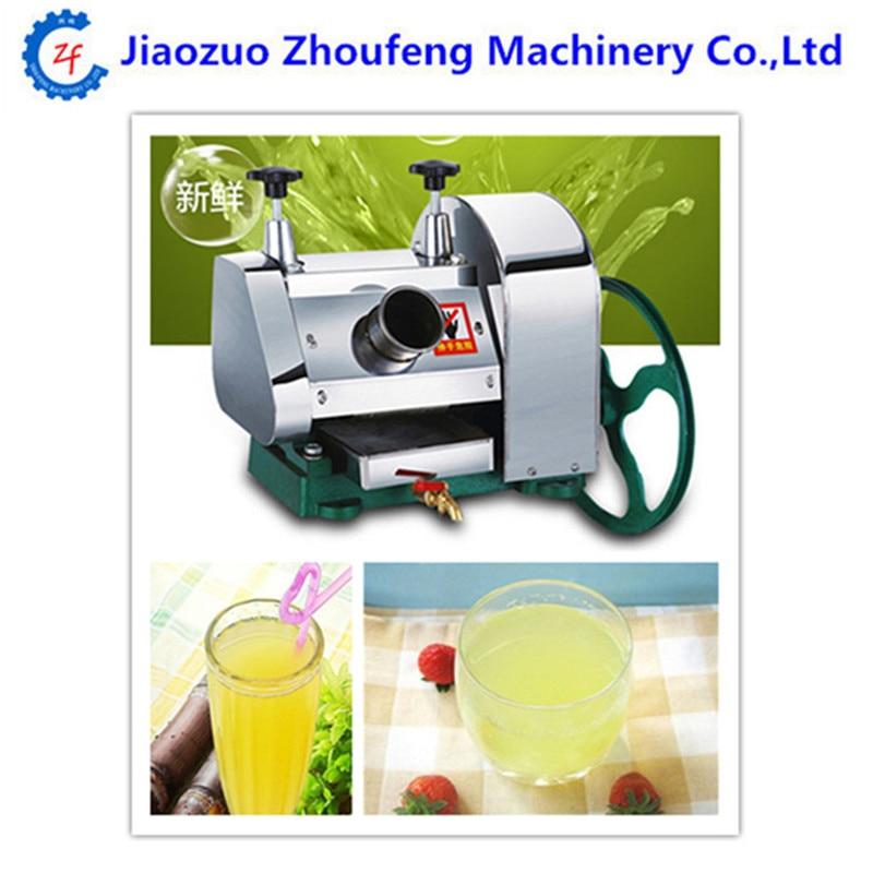 Desktop machine hand stainless steel multifunctional commercial sugarcane juice machine manual sugar cane juicer|Juicers| |  - title=