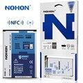 Nohon bateria original para samsung galaxy note 3 note3 n9000 n9006 n9005 com nfc alta capacidade 3200 mah pacote de varejo