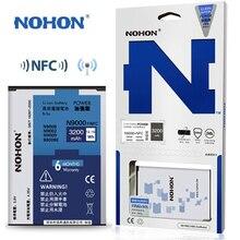 Оригинальные NOHON Аккумулятор Для Samsung Galaxy Note 3 Note3 N9000 N9006 N9005 С NFC батарея Большой Емкости 3200 мАч аккумуляторы батареи Розничной Упаковке