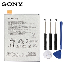 Original SONY LIS1624ERPC Battery For SONY Xperia X Performance F8132 2700mAh Genuine Sony mobile phone replacement battery sony xperia x perfomance ds f8132 white
