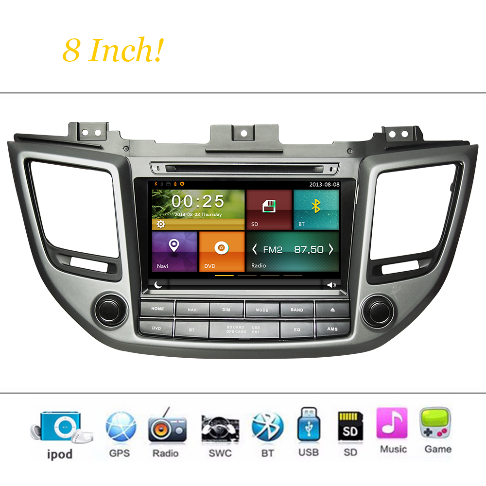 Car dvd player wince system for hyundai ix35 2016 autoradio car radio stereo gps navigation multimedia
