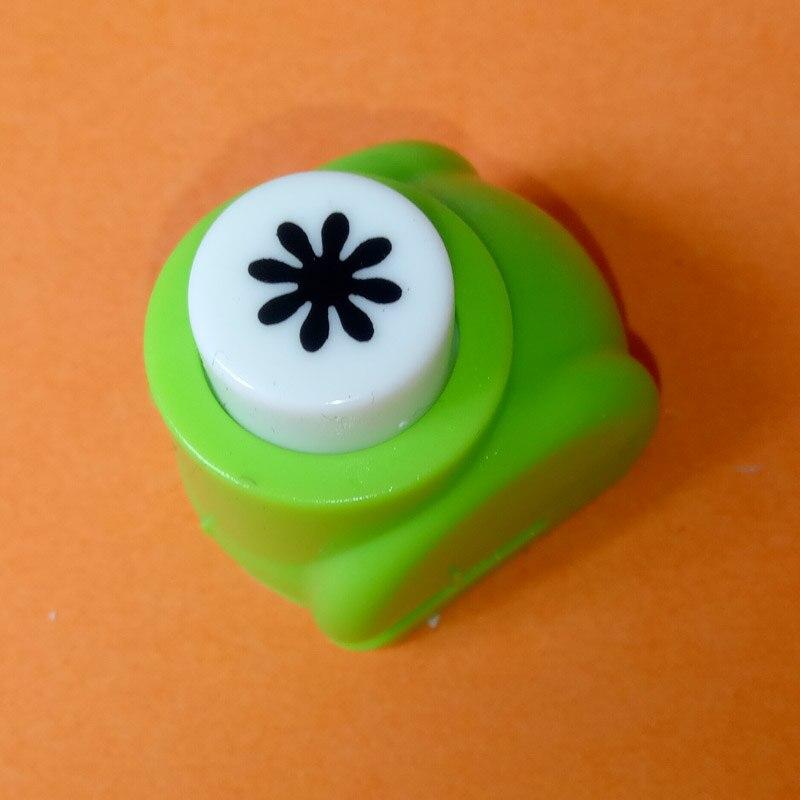 1 шт./лот, мини-дырокол для рукоделия, для скрапбукинга, Дырокол ручной работы, дырокол для рукоделия, подарочная карта, бумажный дырокол, CL-1203 - Цвет: daisy