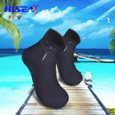 3.5mm Neoprene Adults Women/Men Diving Swimming Shoes Beach Socks Snorkeling Equipment