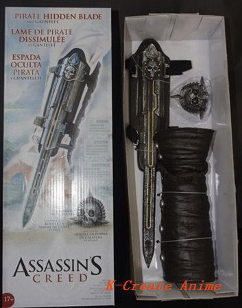 ФОТО Free shipping 1pcs 2generatioin ASSASSINS CREED Cosplay property sword pvc figure toy.1pcs awesome pvc game cosplay.
