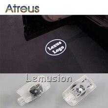 Atreus 2X LED Courtesy Lamp Car Door Welcome Light 12V For Lexus RX GS 300 400 430 350 450 HS IS LS LX 570 ES SC Accessories