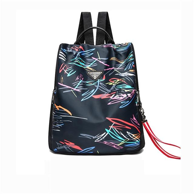 fc7dc57bed8 Women Backpack Brand Fashion Schoolbag Student Back Pack Leisure Korean  Ladies Knapsack Laptop Travel Bags School