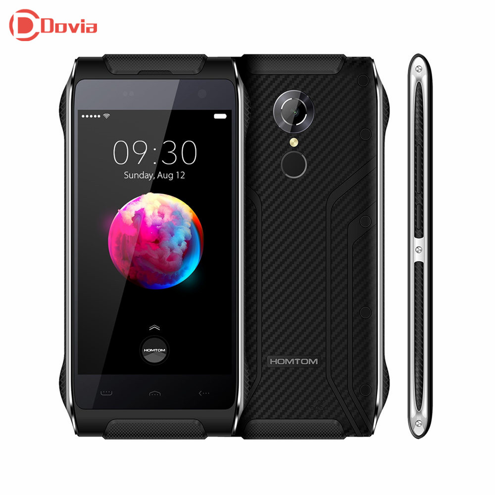 HOMTOM HT20 Pro 4G Cellphone 4.7 inch Android 6.0 MTK6753 Octa Core 3GB RAM 32GB ROM 13.0MP Rear Camera Fingerprint Mobilephone