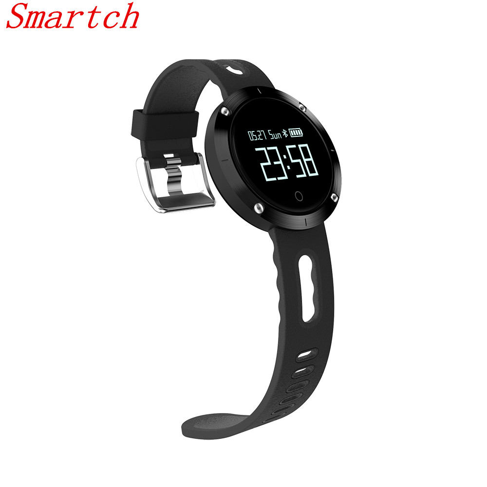 Smartch DM58 Smart Bracelet Blood Pressure IP68 Bluetooth Smart Wrist Band Heart Rate Sleep Sports Fitness