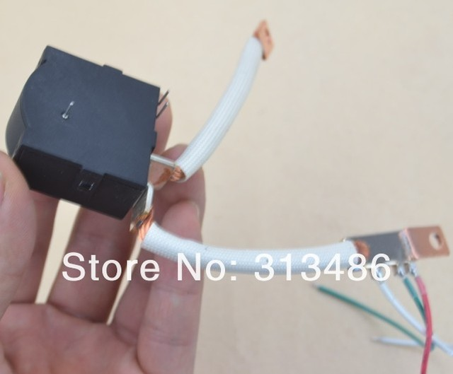12V Magnetic Latching Relay 100A  with Copper Braided